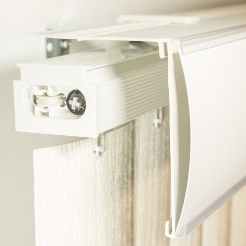 Vertical Blind Valance Types And Associated Mounting Clips